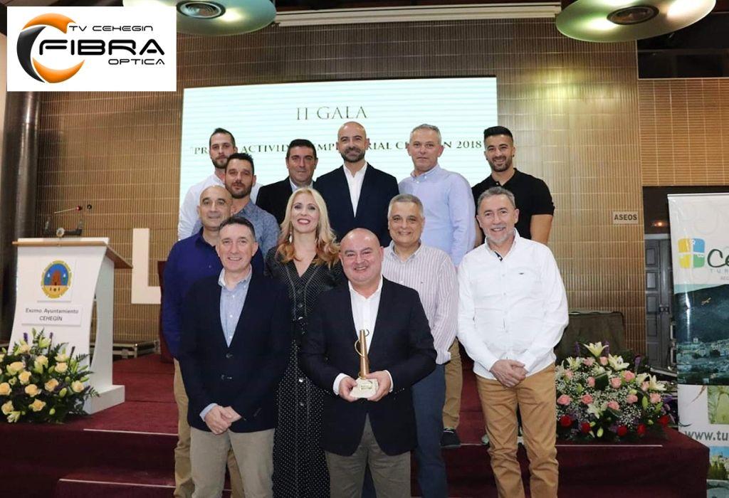 Tv Cehegín premiada en la II Gala Actividad Empresarial