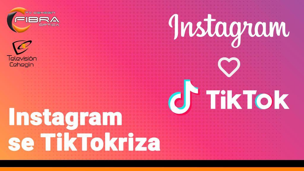 Instagram se TikTokriza