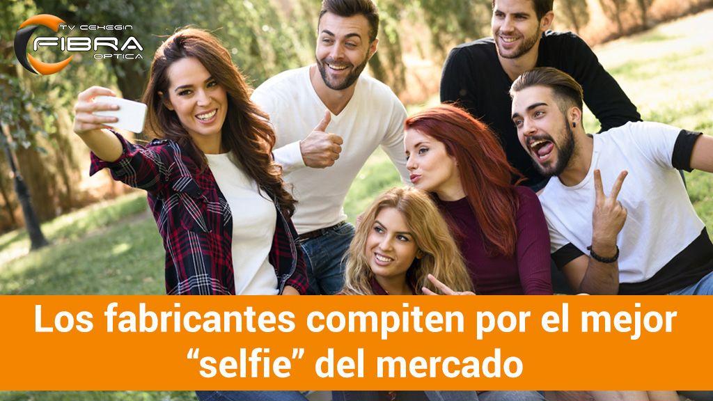 """Los fabricantes compiten por el mejor """"selfie"""" del mercado"""