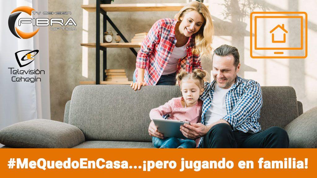 #MeQuedoEnCasa…¡pero jugando en familia!