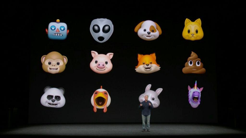 Nuevos y graciosos muñecos de Apple. Los Animojis