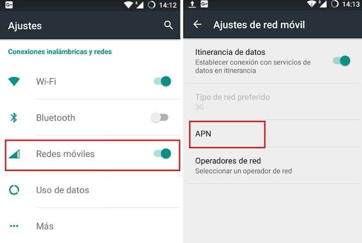 ¿Cómo puedo configurar Internet (APN) en mi móvil?
