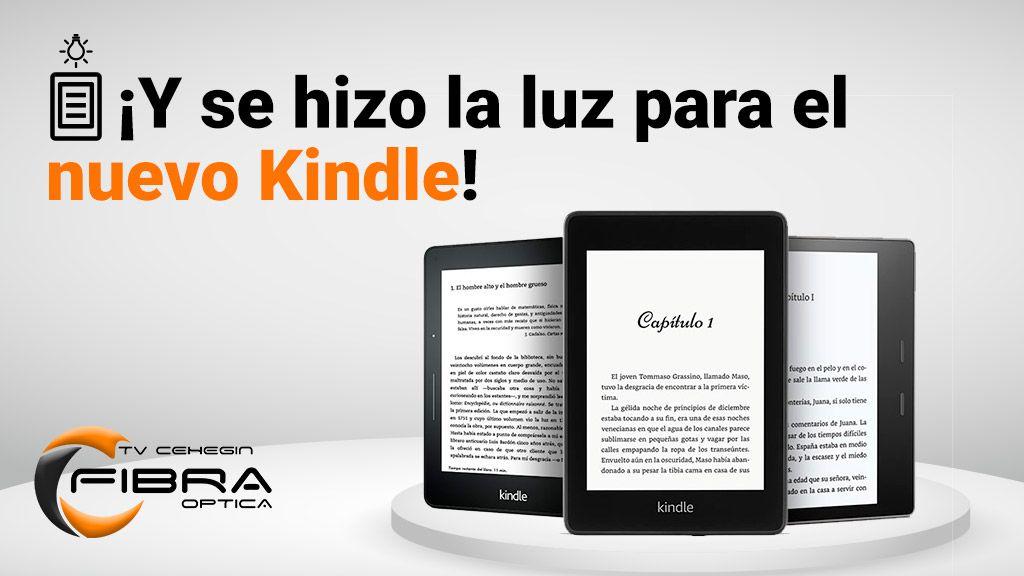 ¡Y se hizo la luz para el nuevo Kindle!