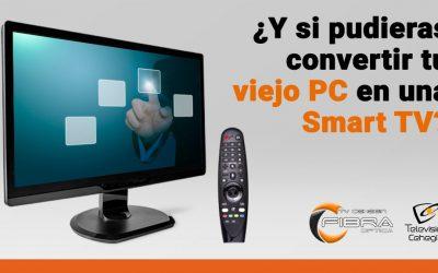 ¿Y si pudieras convertir tu viejo PC en una Smart TV?
