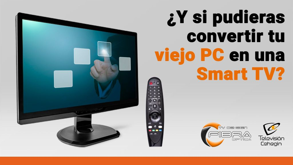 ¿Y si pudieras convertir tu viejo PC en una Smart TV?