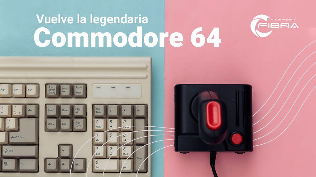 TheA500 Mini: vuelve la legendaria Commodore 64